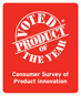 Product of the Year India | Consumers Vote. Sales Increase. Logo