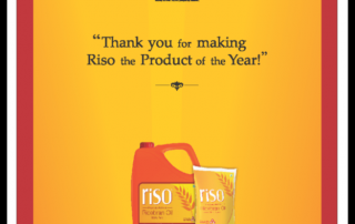 Product of the Year Riso Ricebran Oil