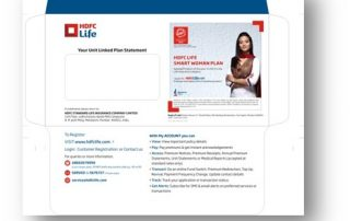 Product of the Year HDFC Post Card