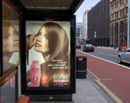 Product of the Year Elvive Bus stop Hoarding