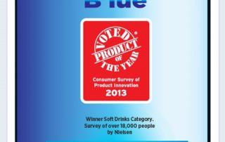 Product of the Year Blue FB Post