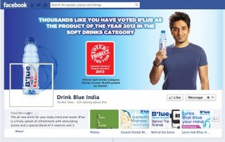 Product of the Year Blue