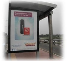 Product of the Year Tata Photon Bus Hoarding