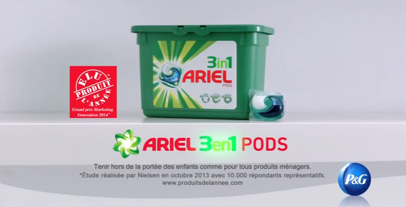 Ariel 3 in 1 Pods