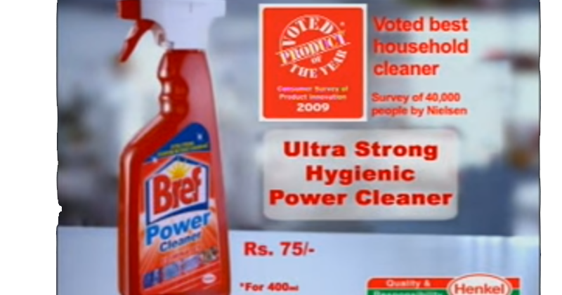 Bref Power Cleaner - TVC