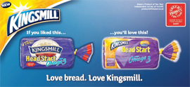 Product of the Year Global food & drinks winner Global Kingsmill