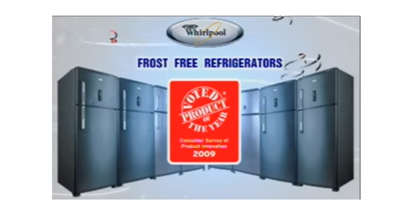Whirlpool Frostfree Refrigerator